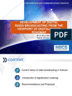 Developing Digital Radio Digital Roadmap