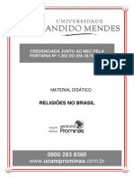 Religões No Brasil-módulo 3