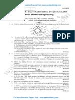 Basic Electrical Engineering Jan 2015
