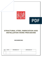 Structural Steel Procedure.