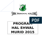 Program Hal Ehwal Murid 2015
