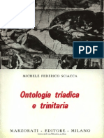 [Michele Federico Sciacca] Ontologia Triadica e Trinitaria