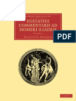 (Cambridge Library Collection - Classics 3) Eustathius, J. G. Stallbaum (editor)-Eustathii Commentarii ad Homeri Iliadem, Volume 3 (Cambridge Library Collection - Classics)-Cambridge University Press .pdf