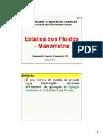 Aula-FT Manometria 2015