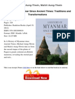A History of Myanmar Since Michael a 14293777
