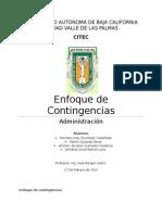 Adm. de Contingencias