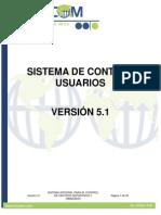 Sistemas de Control de Usuario