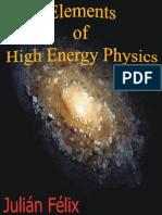 Elements of High Energy Physics