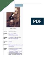 Bio Karl Marx