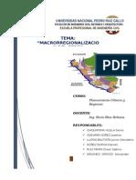 Macrorregionalizacion Del Peru 2 Docx