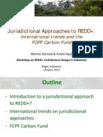 Pendekatan Juridiksi untuk REDD+