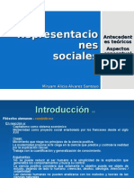 Representaciones Sociales, Introduccion_ 1 y 2 Miryam Alvarez