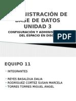 Administración de Base de Datos Unidad 3