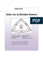 Using solar energy for production of cooling and refrigeration