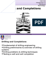 Drilling and Completions