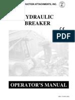 Manual Operador Martillo Baker