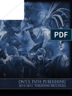 Onyx Path 2014-2015 Publishing Brochure (6235818)