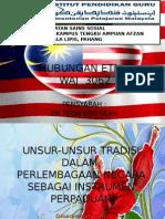 UNSUR-UNSUR TRADISI DALAM PERLEMBAGAAN MALAYSIA