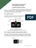 FONCTIONNEMENT ET MONTAGE D'UNE RADIO-COMMANDE
