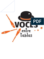 Logotipo Voces Entre Tablas