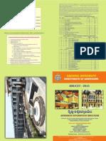 KRUCET 2015 Information Brochure