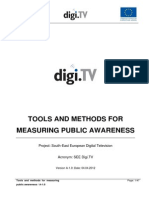 Tools and aMethods for Measuring Public Awareness