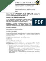 ESTATUTOS CLUB DEPORTIVO GALAXI FUTBOL CLUB.pdf