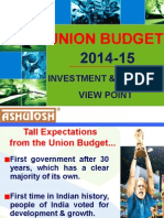 Presentation on Union Budget 2014-15 (1)