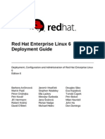 Red Hat Enterprise Linux 6 Deployment Guide en US