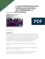 Desarrollo de Competencias Con El Diseño Curricular Nacional