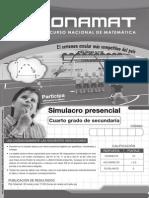4S Simulacro Presencial-II 17conamat