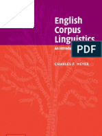 Charles Meyer -English Corpus Linguistics - An Introduction