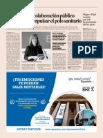 20150310 Expansión - Marín Pide La Colaboración Público Privada Para Impulsar El Polo Sanitario