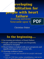 A Heart Failure Rehabilitation Programme