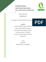 PRACTICA 4 de Quimica Aplicada Viscosidad y Tension Superficial