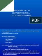 Prezentare de Caz - Hepatita Cu CMV
