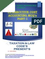 COST MCQ  PART-1