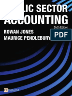 Cover & Table of Contents - Public Sector Accounting (6th Edition)