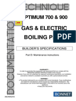 GAS & ELECTRIC BOILING PANS