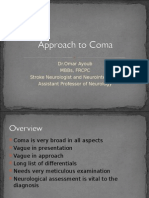 Approach to Coma