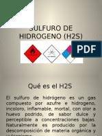 Gas Sulfuro de Hidrogeno h2s