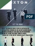 Digital Booklet - Let the Road