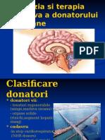 Anestezia Si Terapia Intensiva a Donatorului de Organe