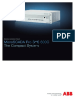 Microscada Pro Sys 600c