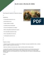 5 Libre de Paleo Salsa de carne y Recetas de Adobo