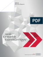 Audi Annual Report 2014