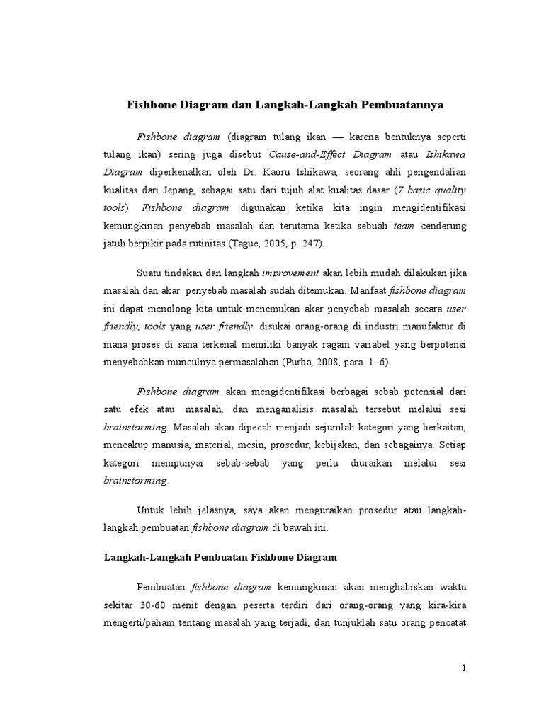 Fishbone diagram dan langkah ccuart Images