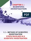 Ch1 Scientific Investigation