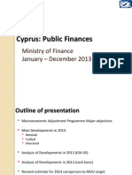 Fiscal Developments 2013 and Medium Term Prospects