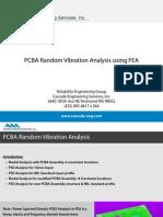 CES PCBARandomVibrationAnalysisusingFEA (1)